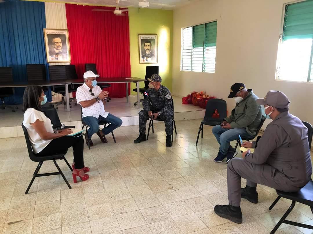 En el día de hoy realizamos un encuentro con el Mayor Alejandro De La Cruz