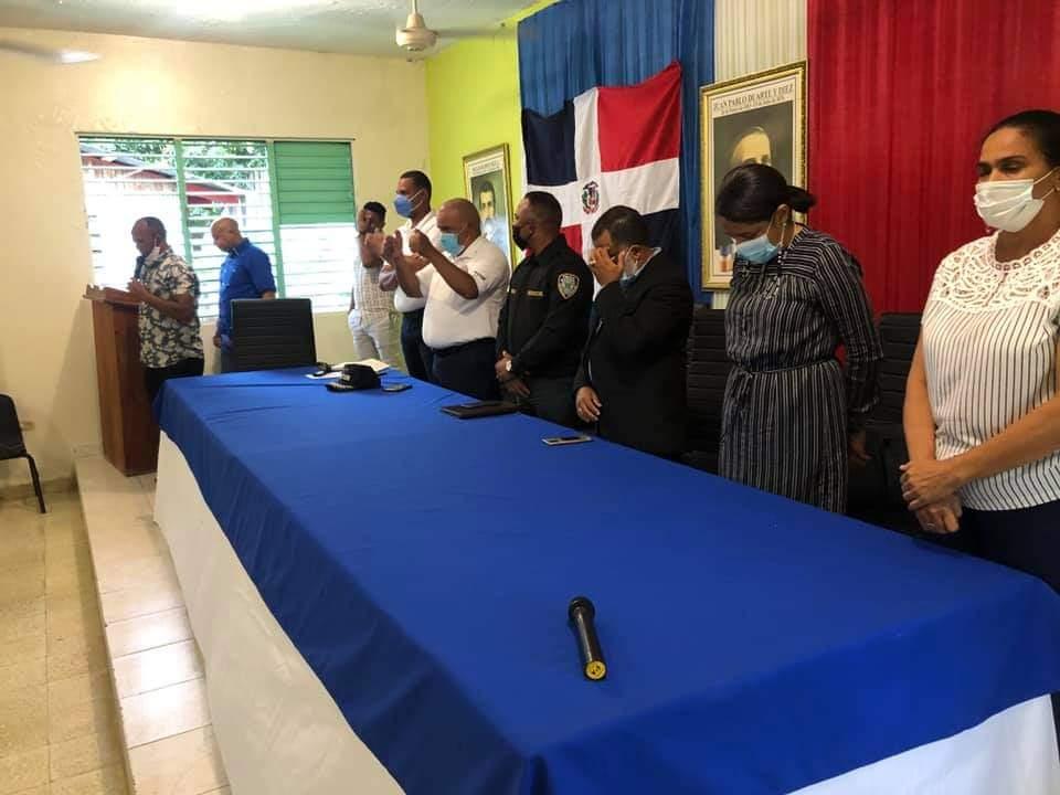 CONANI hoy dejó juramentado el Directorio Municipal y la Junta Local